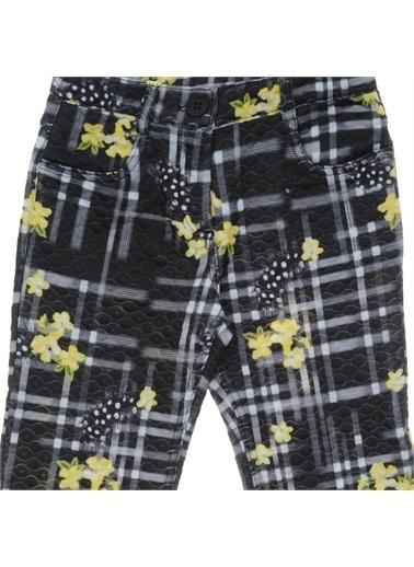 Panço Kız Çocuk Pantolon 18221042100 Siyah